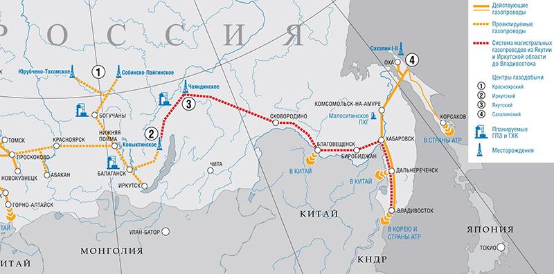 Газопровод Сахалин-Владивосток