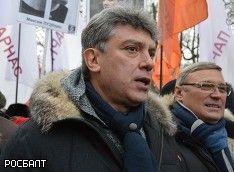 """Немцов: Унизительные """"парады"""", которые устраивают ополченцы, не просто гнусность, а преступление"""